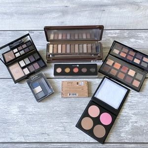 7 Piece Eyeshadow Palette & Contour Kit Bu…